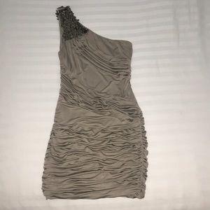 One shoulder dress. Like new.